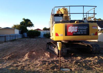 DPC Demolition Excavator 2